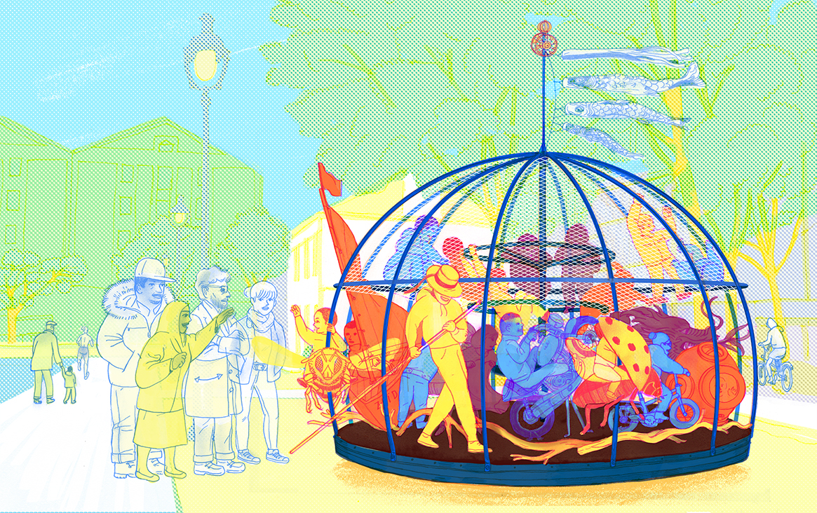 Carrouzoïde Paris Grand Huit SCOP Architecture